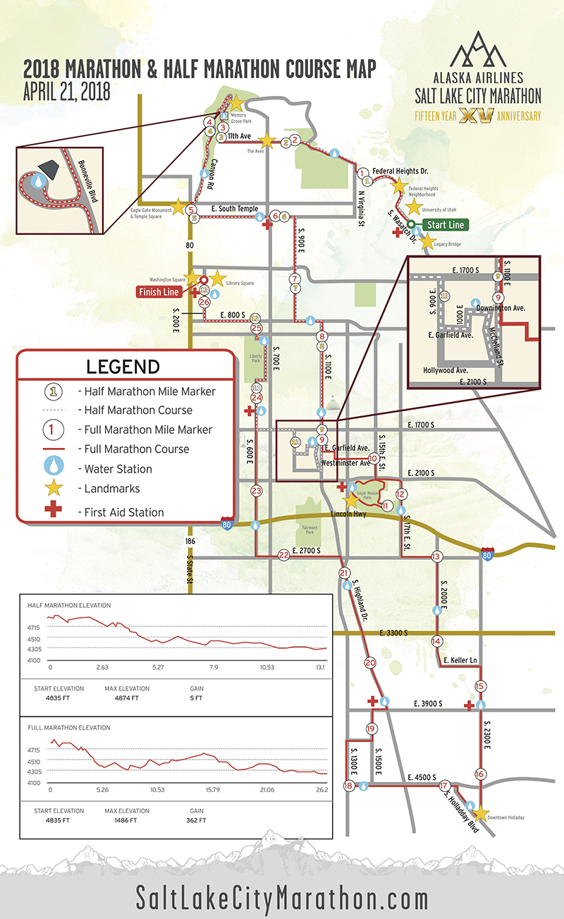Course | Salt Lake City Marathon