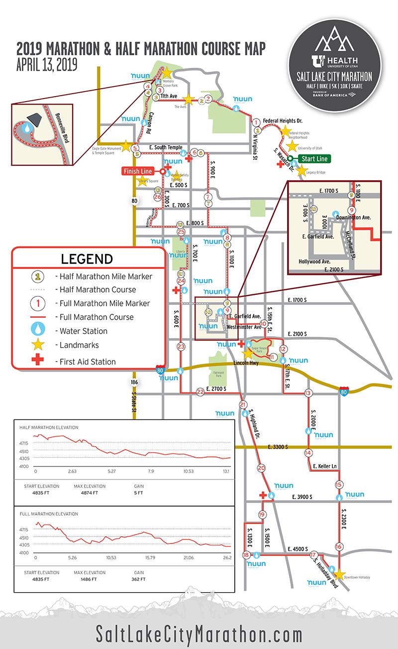 2019_SLC_MarathonHalf_Course_Map_800x1300 Salt Lake Marathon Route Map on salt lake clothing, salt lake water, salt lake home, salt lake panorama,